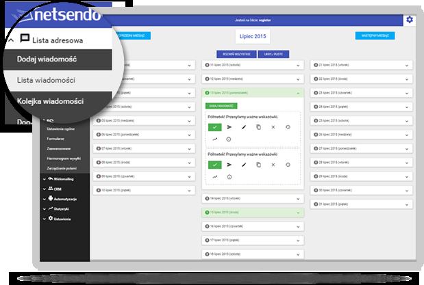 NetSendo - autoresponder