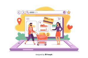 Sklep Online karta kredytowa ludzie sprzedaż