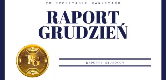 Raport finansowy – grudzień 2019